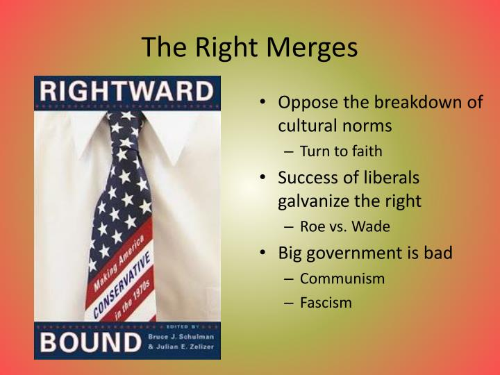 The Right Merges