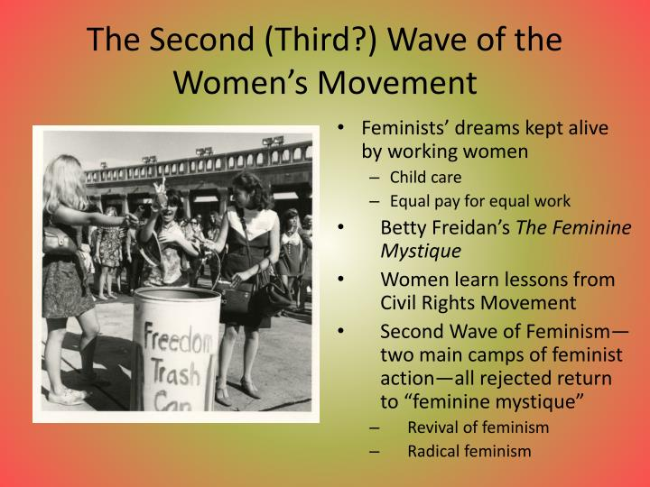 The Second (Third?) Wave of the Women's Movement