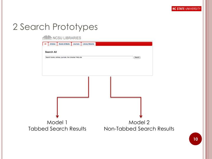 2 Search Prototypes