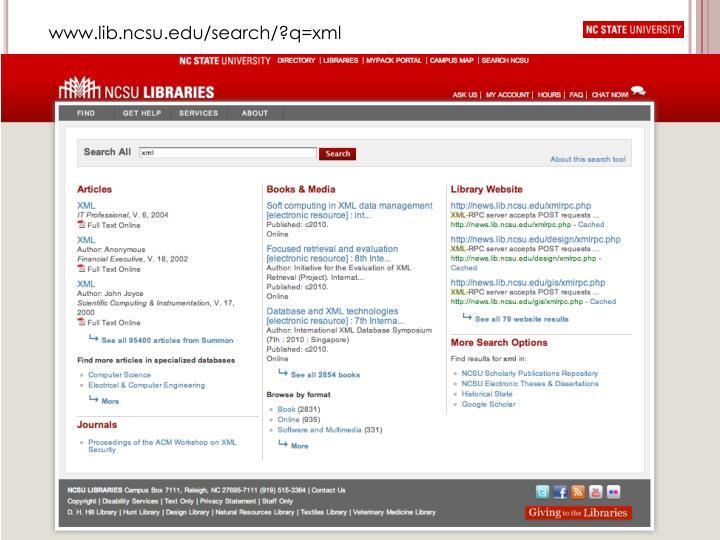 www.lib.ncsu.edu/search/?q=xml