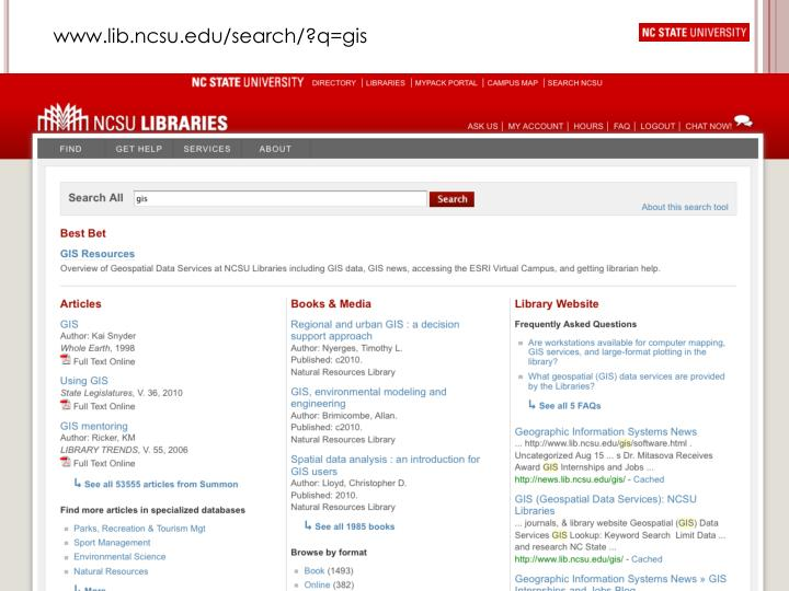 www.lib.ncsu.edu/search/?q=gis