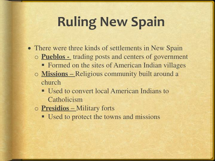 Ruling New Spain