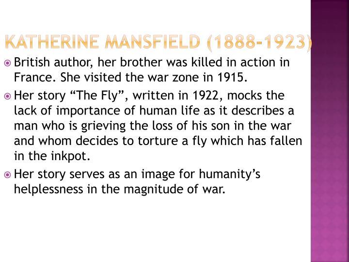 Katherine Mansfield (1888-1923)