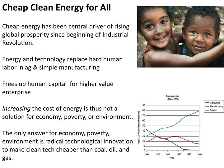 Cheap Clean Energy for All