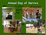 annual day of service