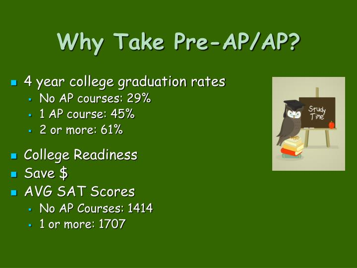 Why Take Pre-AP/AP?