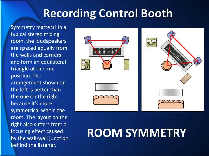 Recording Control Booth