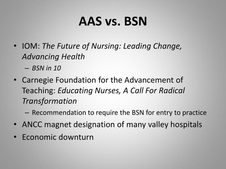 AAS vs. BSN