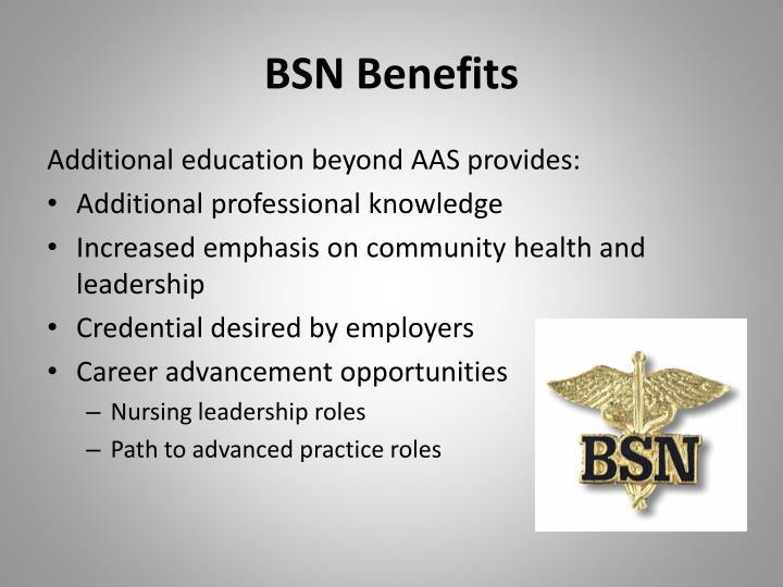 BSN Benefits