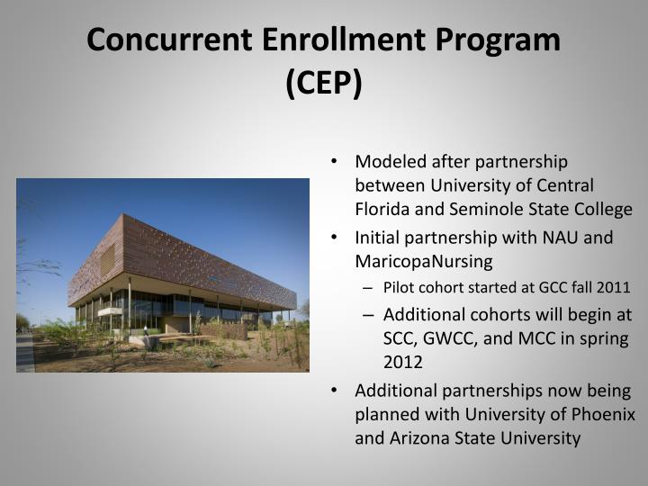 Concurrent Enrollment Program