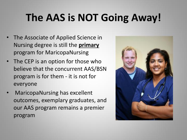 The AAS is NOT Going Away!