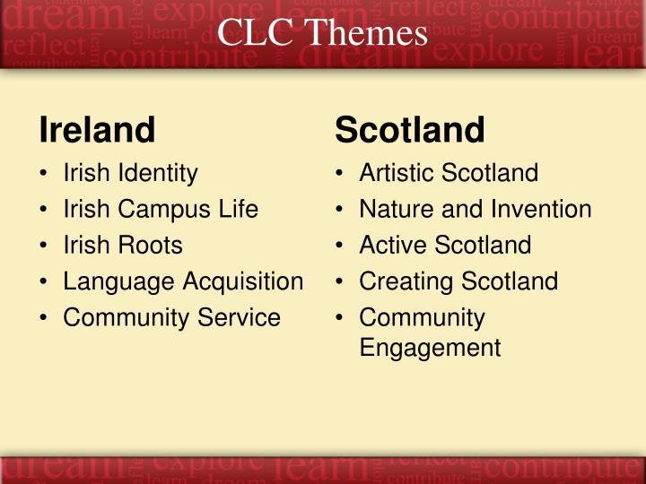 CLC Themes