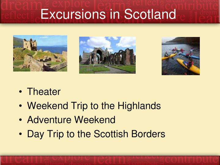 Excursions in