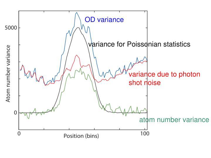 OD variance