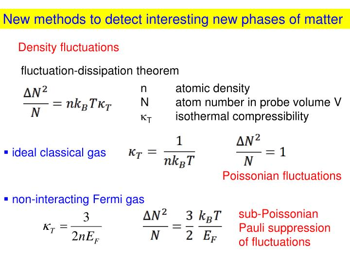 New methods to detect interesting new phases of matter