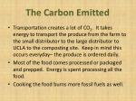 the carbon e mitted