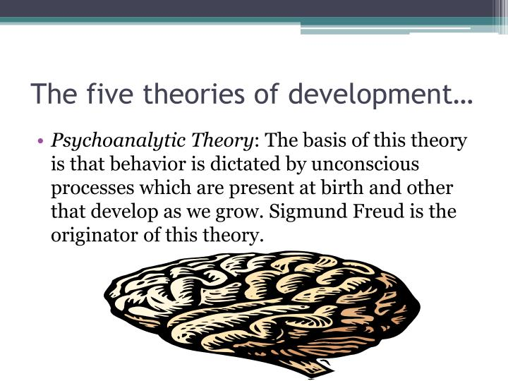 The five theories of development…