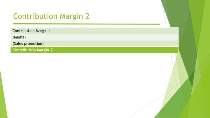 Contribution Margin 2