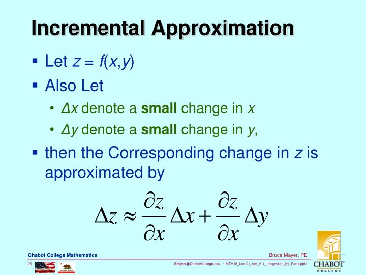 Incremental Approximation