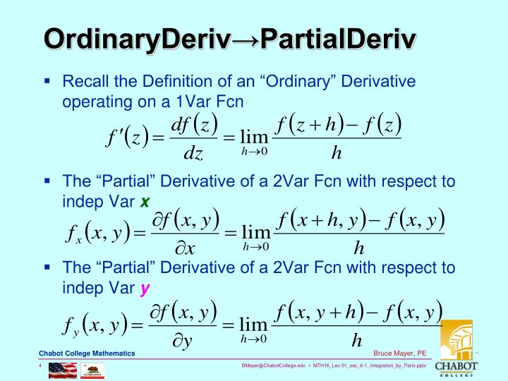 OrdinaryDeriv→PartialDeriv