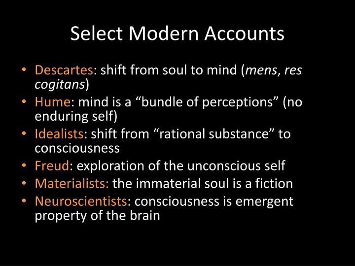 Select Modern Accounts