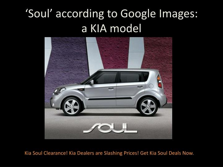 'Soul' according to Google Images: