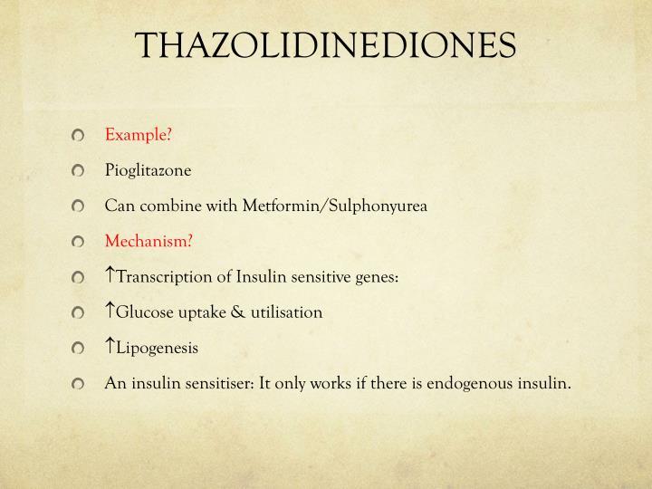 THAZOLIDINEDIONES