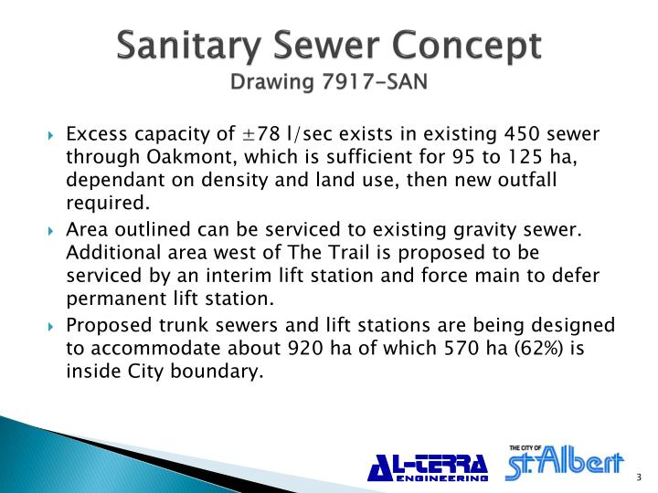 Sanitary Sewer Concept