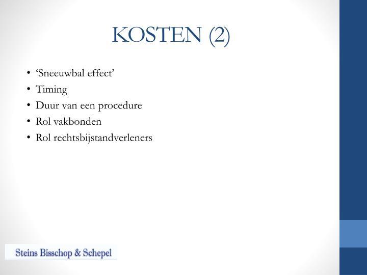 KOSTEN (2)