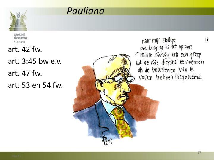 Pauliana