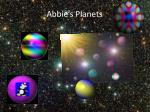 abbie s planets