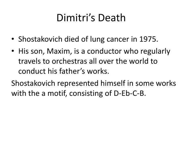 Dimitri's