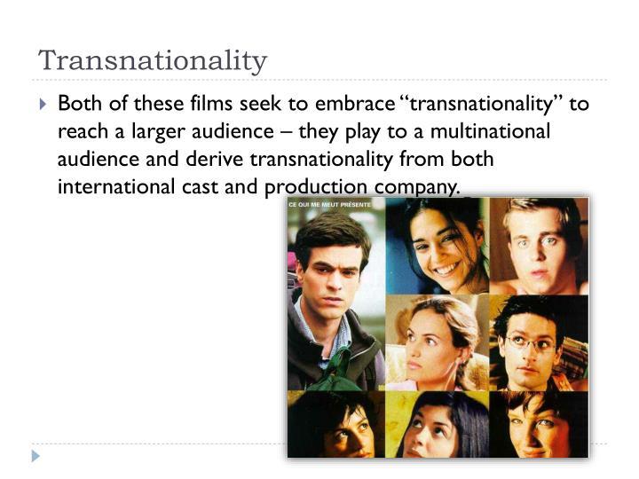 Transnationality