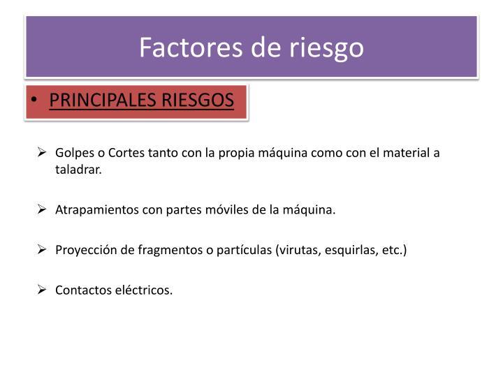 Factores de