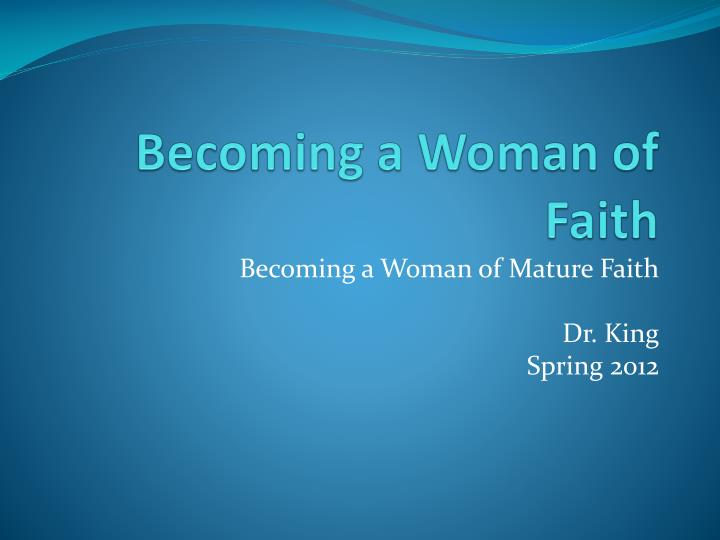 Powerpoint on becoming a mature doctor