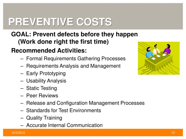 Preventive Costs