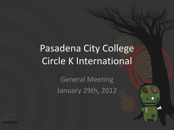 Pasadena City College