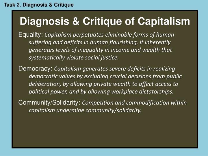 Task 2. Diagnosis & Critique