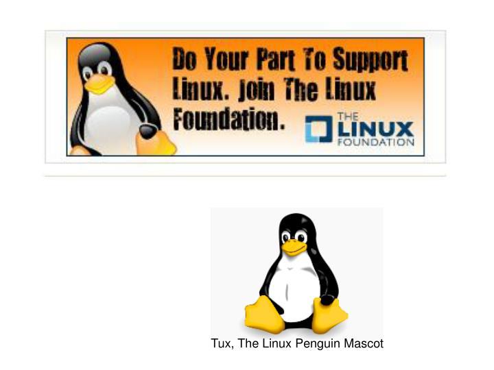 Tux, The Linux Penguin Mascot
