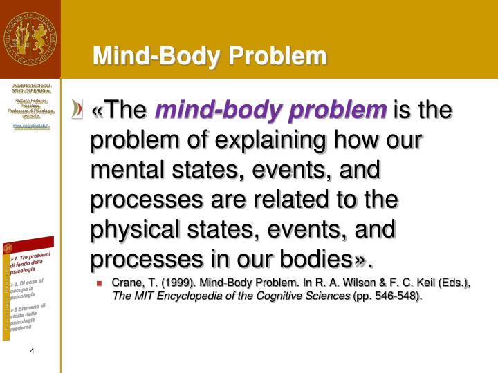 Mind–body problem