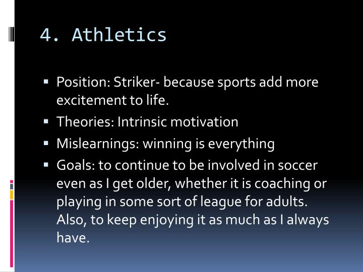 4. Athletics
