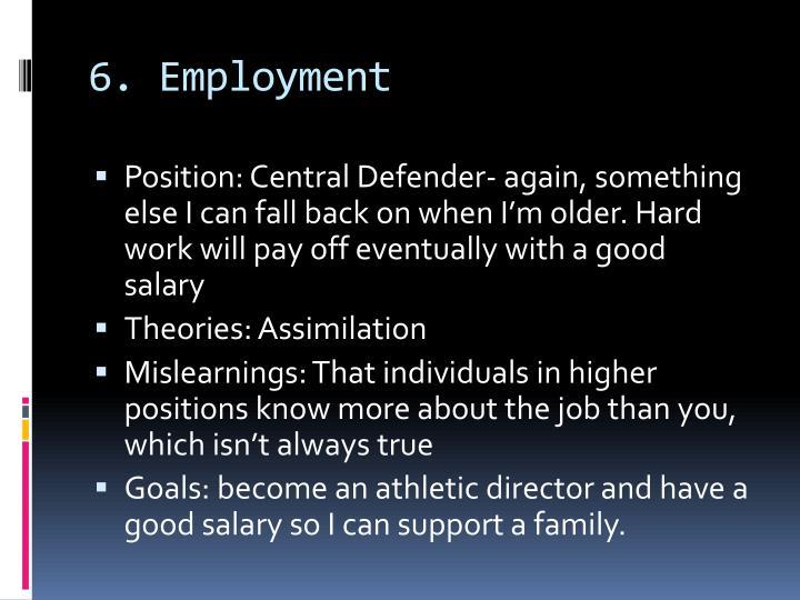 6. Employment