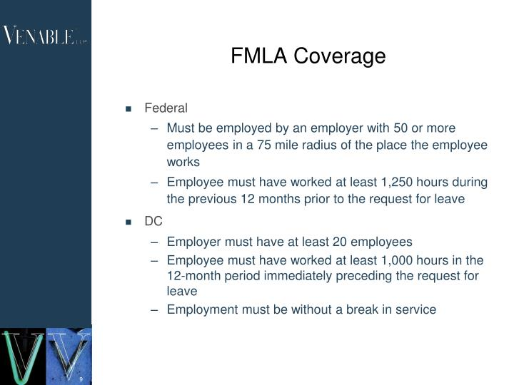 FMLA Coverage