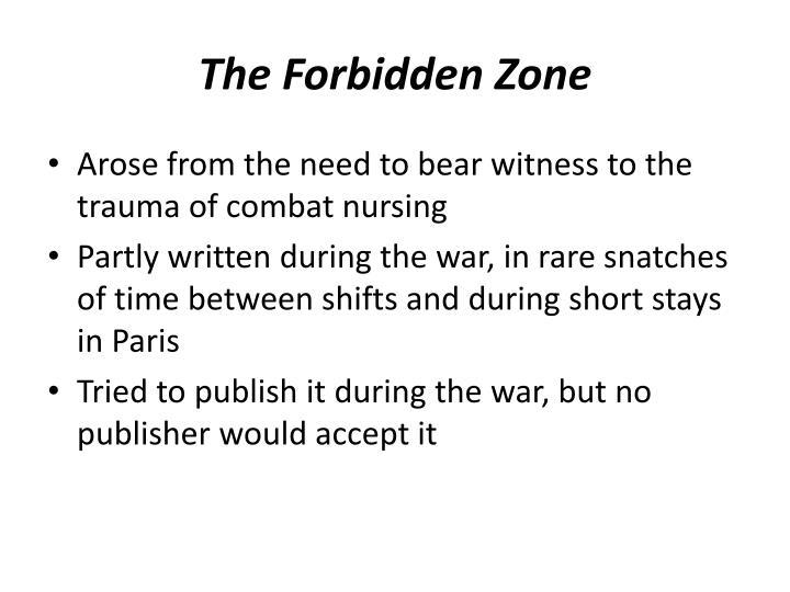 The Forbidden Zone
