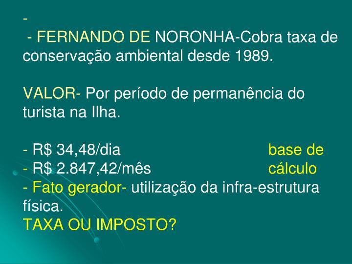 - FERNANDO DE