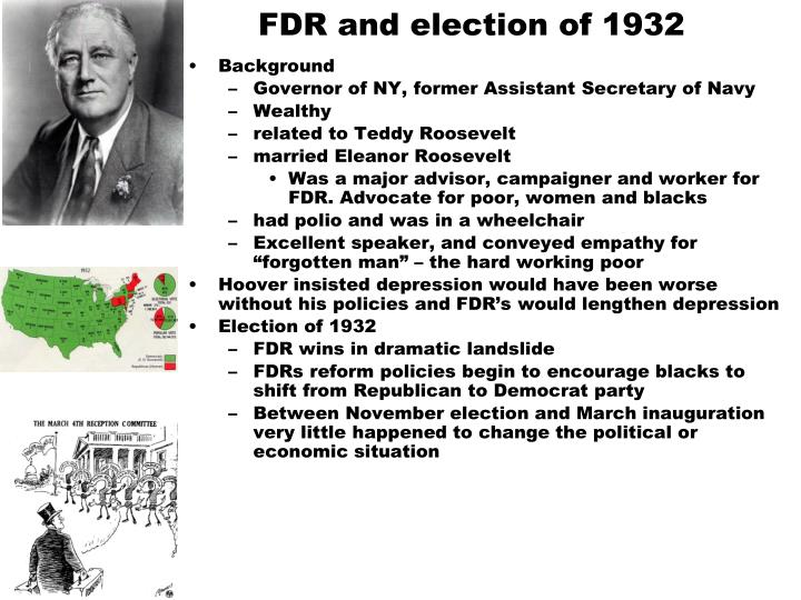 FDR and election of 1932