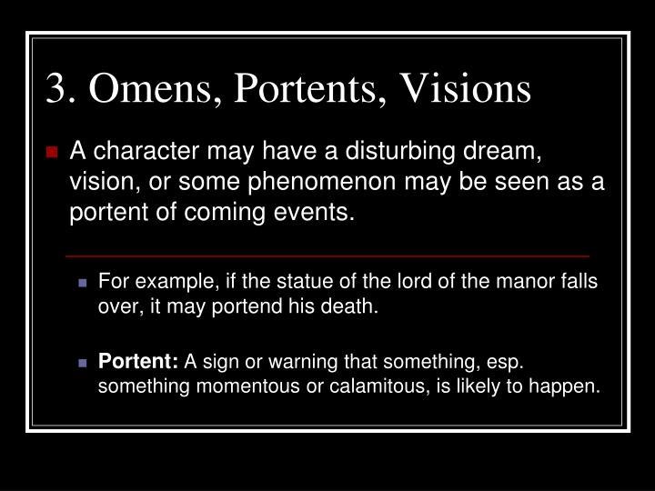 Ppt the dark romantics or the gothic romantics for Portend or portent