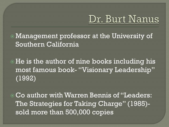 Dr. Burt