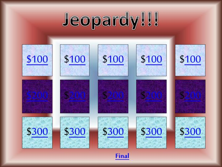 Jeopardy!!!
