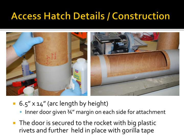 Access Hatch Details / Construction